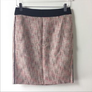 Banana Republic Tweed Pencil Skirt Size 4 Petite